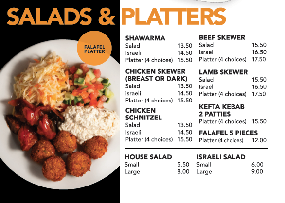 Salads & Platters